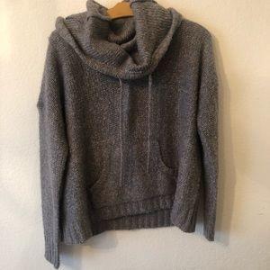 Kensie cowl neck/hoodie sweater